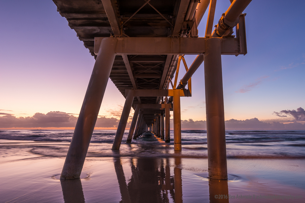 Under The Pumping Station, The Spit, Gold Coast, Australia
