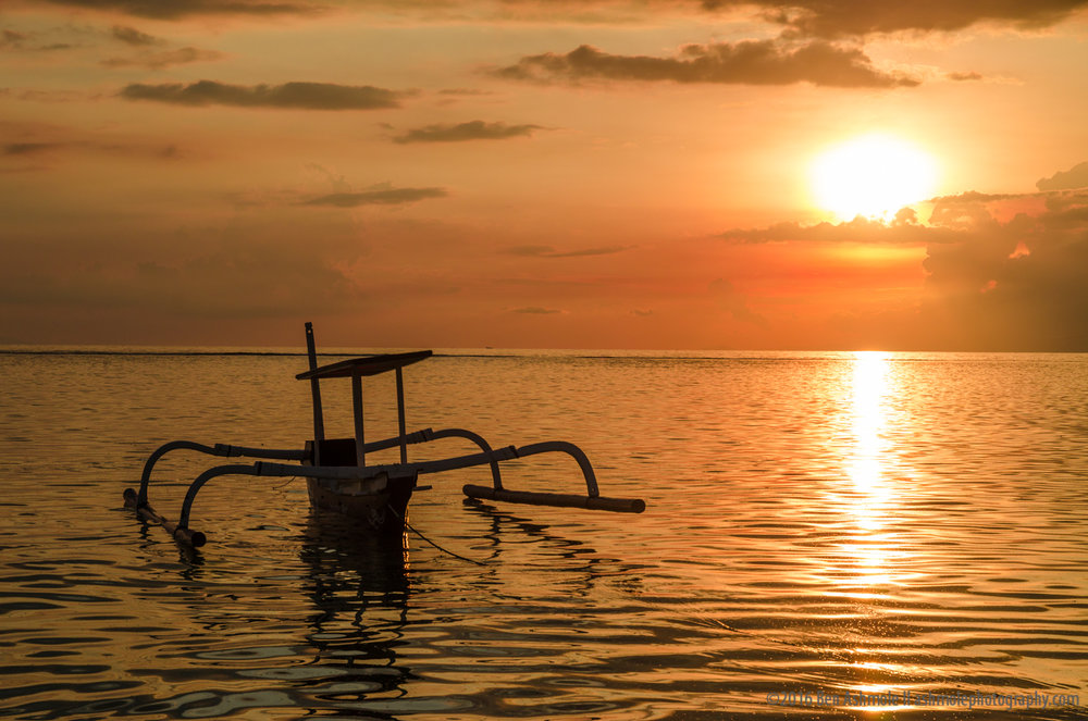 Indonesia Sunset, Gili Air, Indonesia