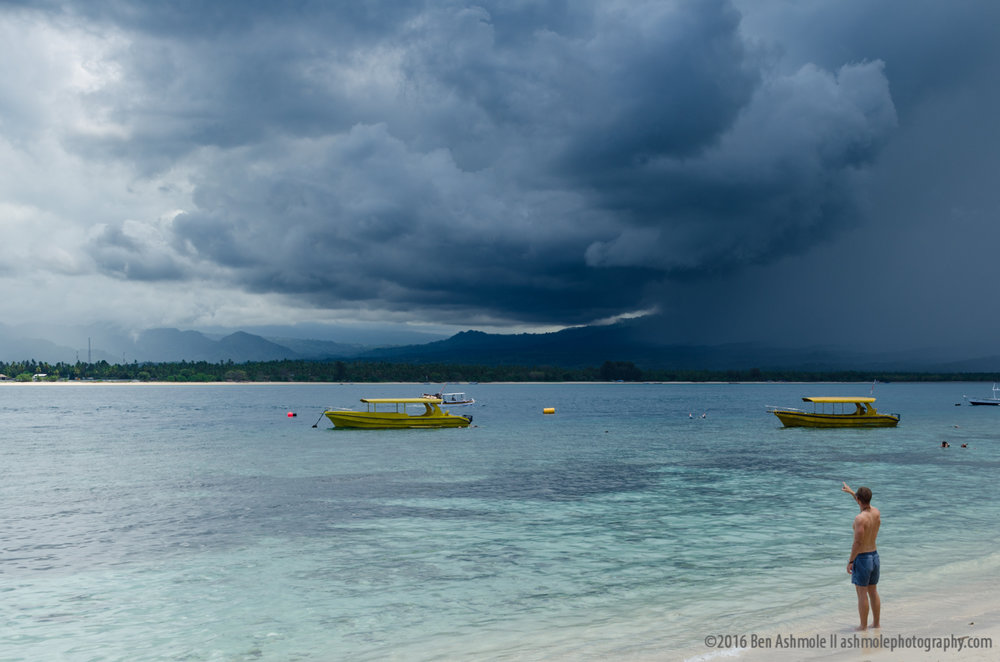 Gili Storm, Gili Air, Indonesia