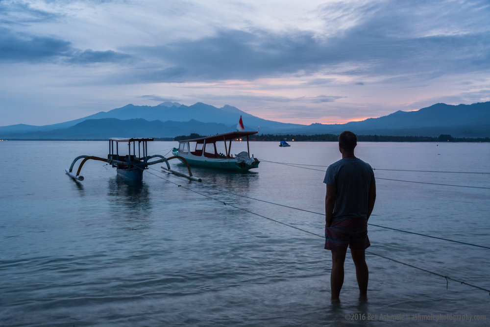 Before Sunrise, Gili Air, Indonesia