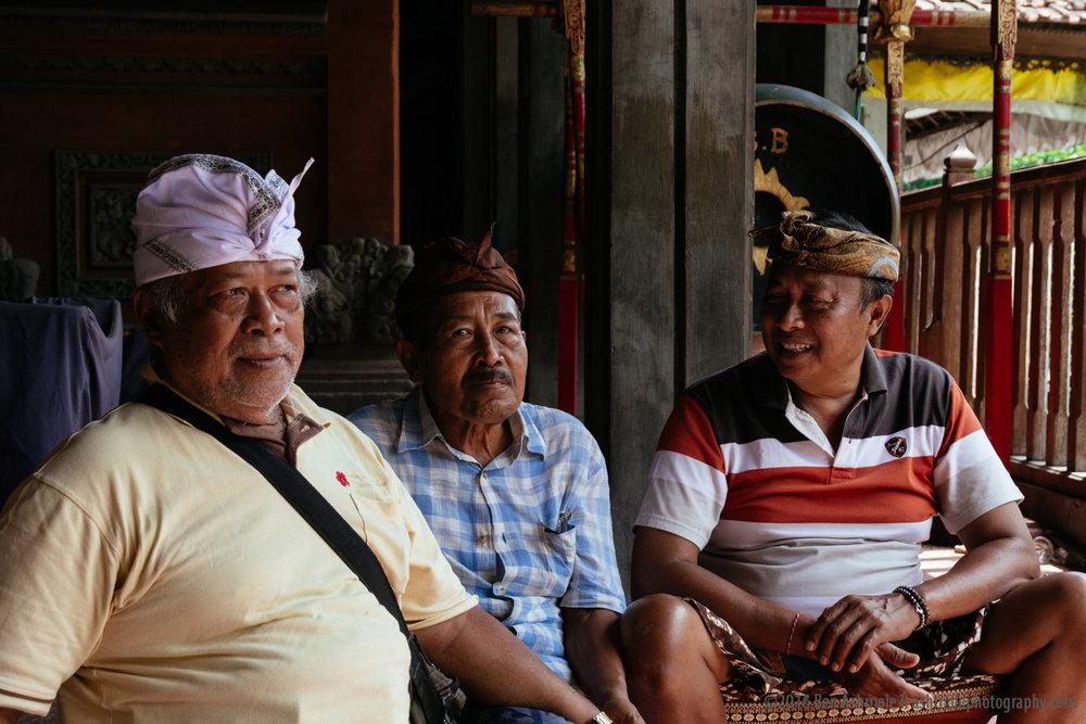 3 Men, Ubud, Bali, Indonesia