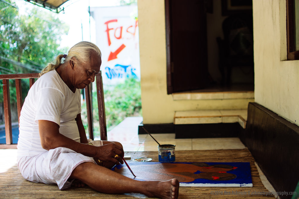 Ngurah KK 2, The Artist, Ubud, Bali