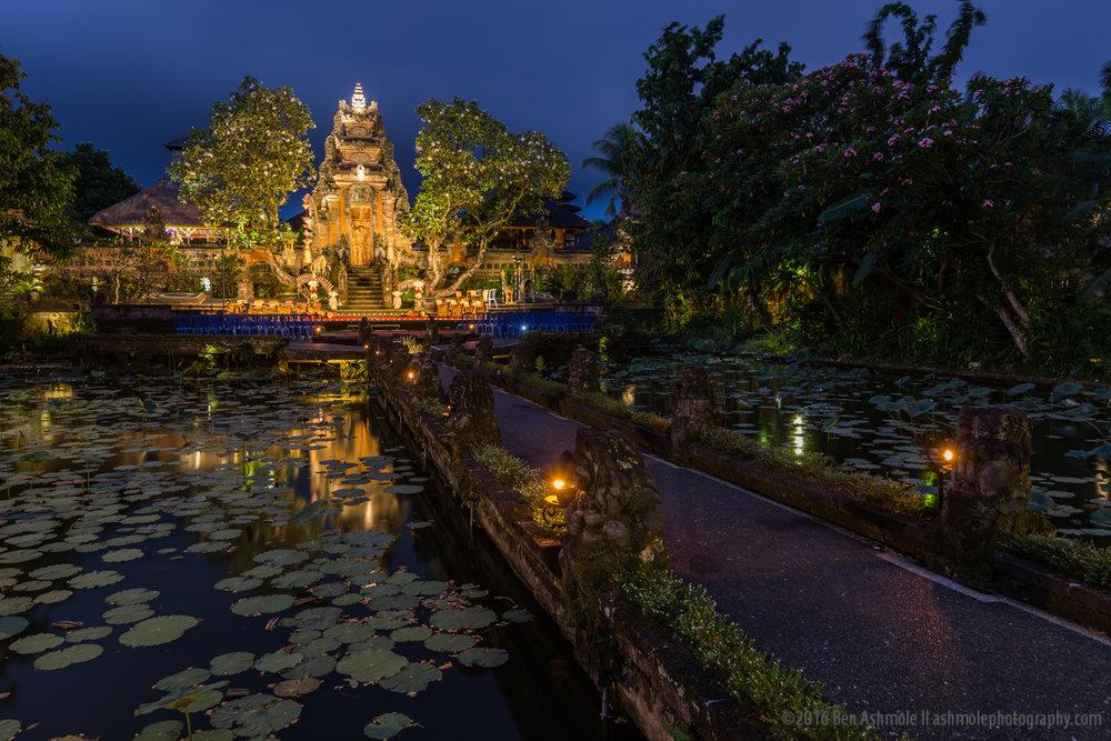 Saraswati Temple, Ubud, Bali, Indonesia