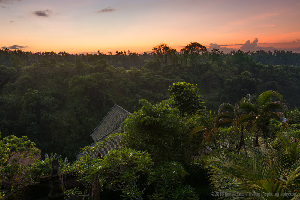 Ubud Sunrise, Bali, Indonesia
