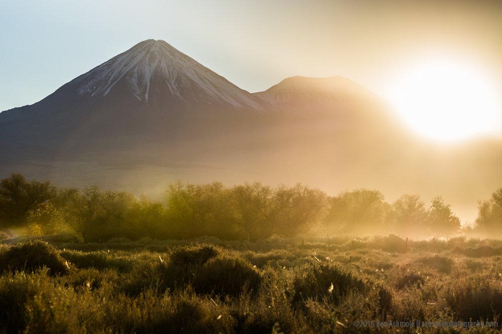 Volcanic Sunrise, San Pedro De Atacama, Chile
