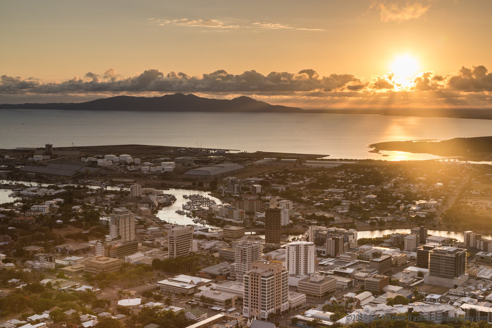 Castle Hill Sunrise, Townsville, Australia