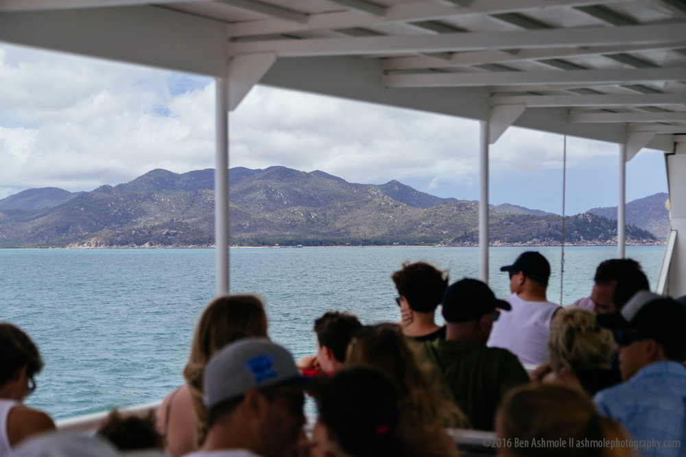 Ferry To Magnetic Island, Townsville, Australia