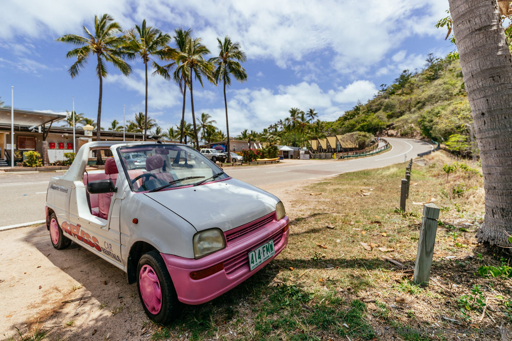 Mini Moke, Magnetic Island, Queensland, Australia
