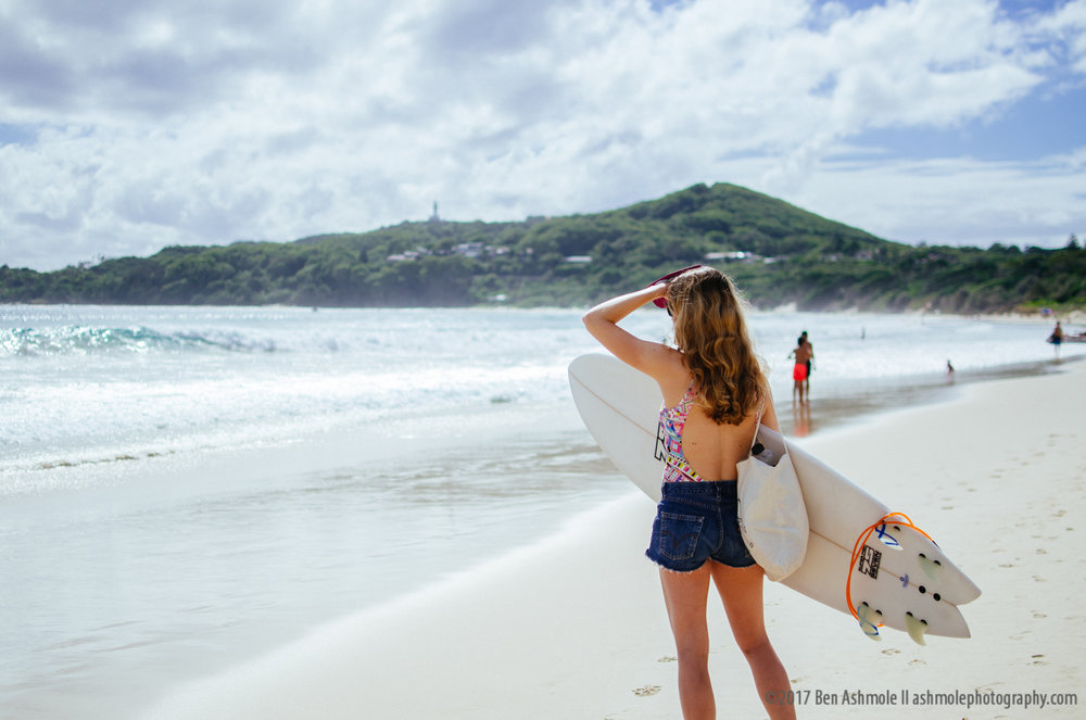 Surfer Girl, Byron Bay, Australia