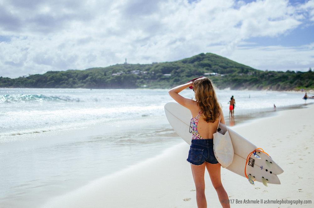 Surfer Girl, Byron Bay, Australia