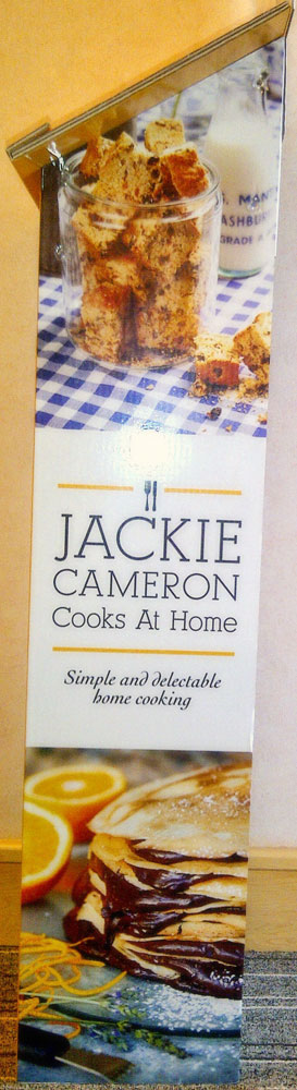 Jackie Cameron Book Stand Side