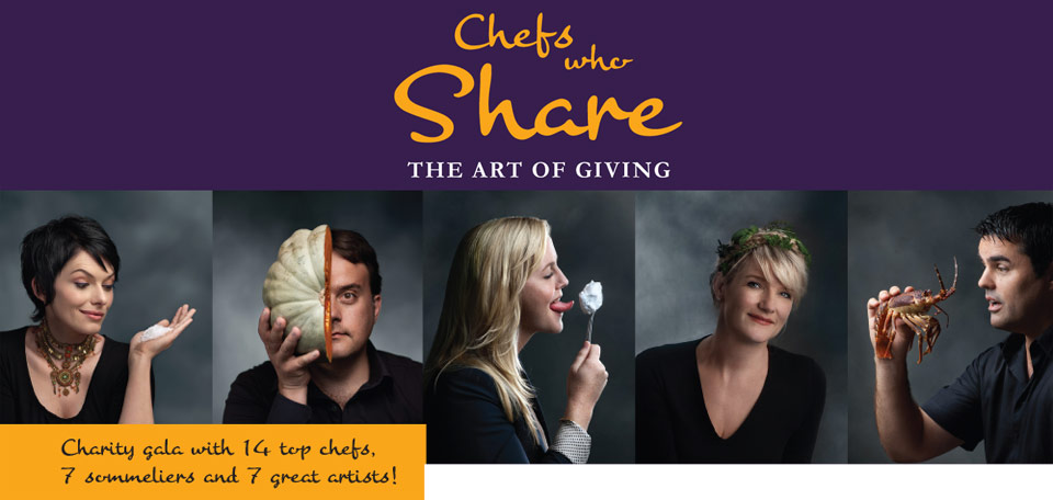 Chefs Who Share Charity Gala