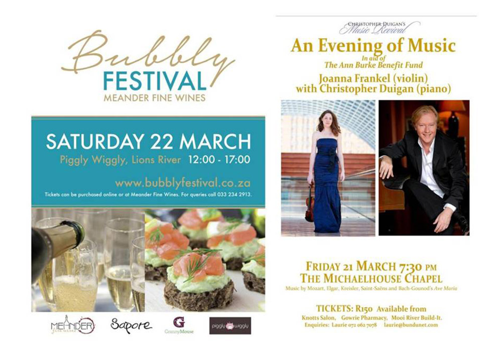 Bubbly Festival - Midlands Meander