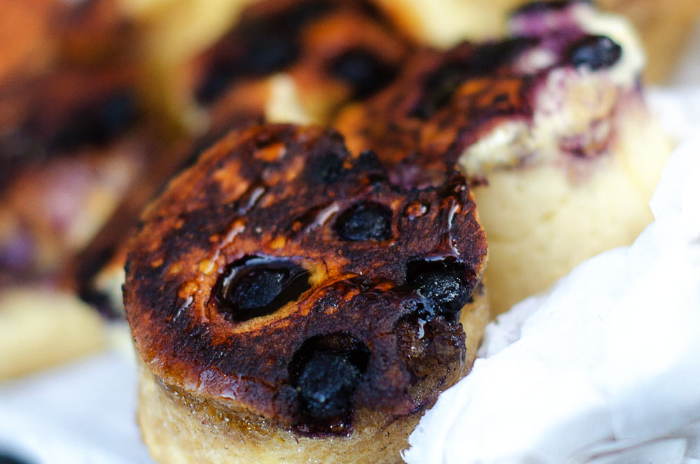 Blueberry Crumpets / Karen E. Photography