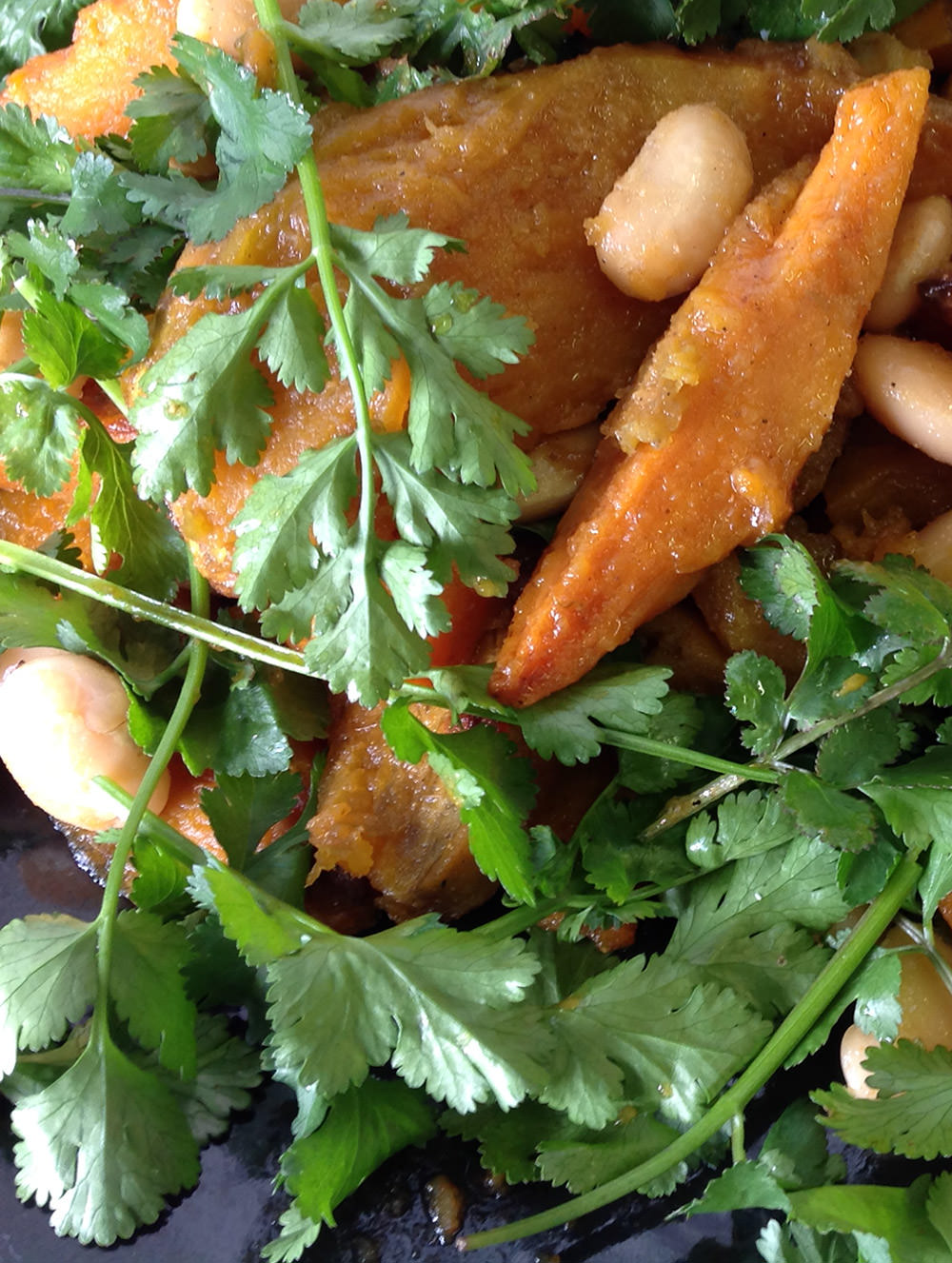 Cafe Bloom's Roast Butternut and Ginger Butterbean Salad / Howick Hospice Recipe Book : FEAST THE MIDLANDS (p)