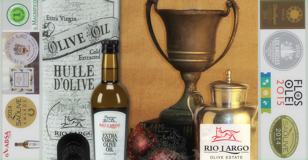 Award-winning, Rio Largo olive Oil