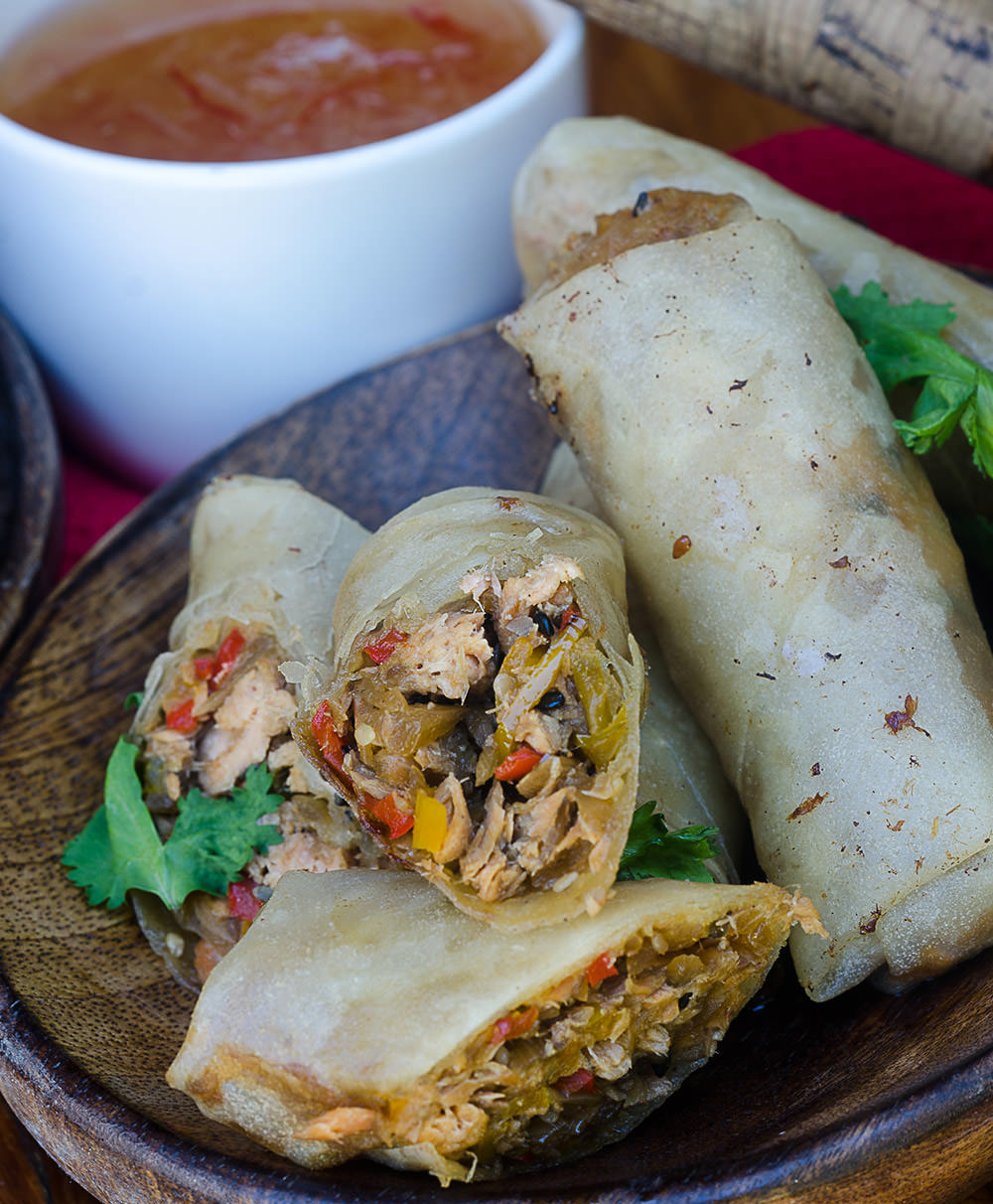 Trout Spring Rolls / Karen E Photography (p)