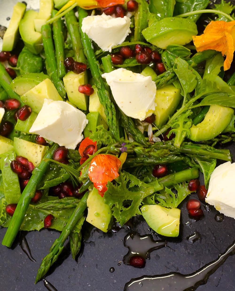 Avocado & Asparagus Salad / Karen E Photography (p)