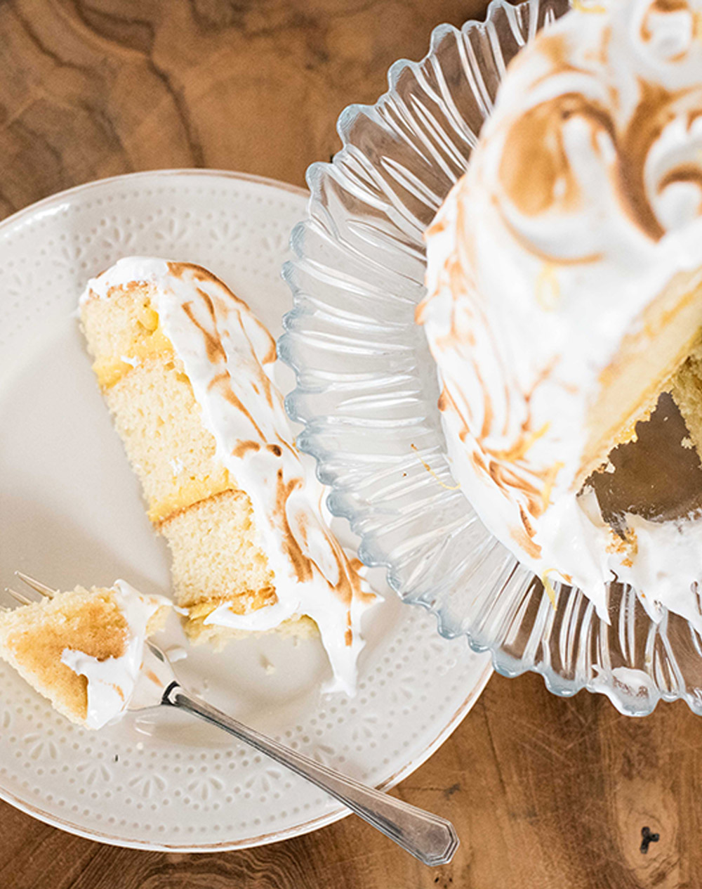 Kates' Lemon Meringue Cake / Kate Martens (p)