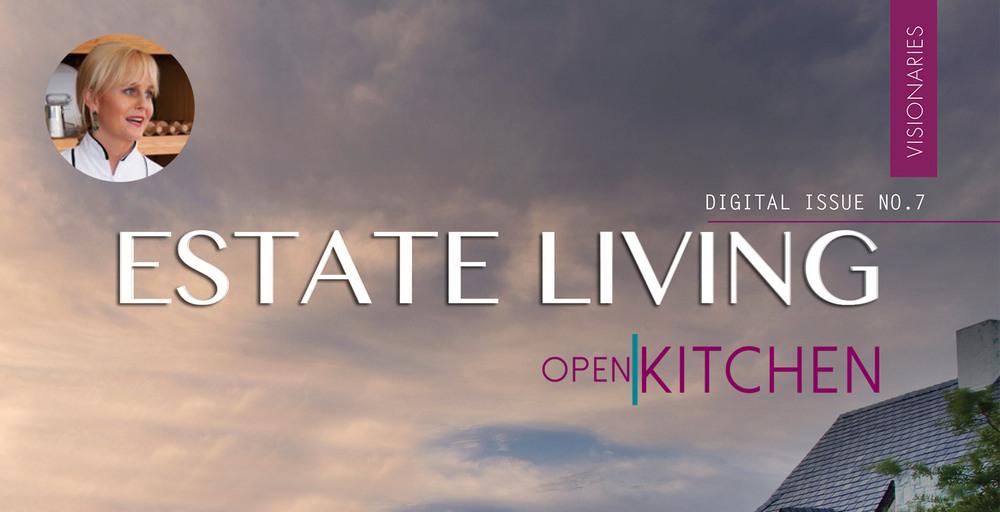 Estate Living Open Kitchen