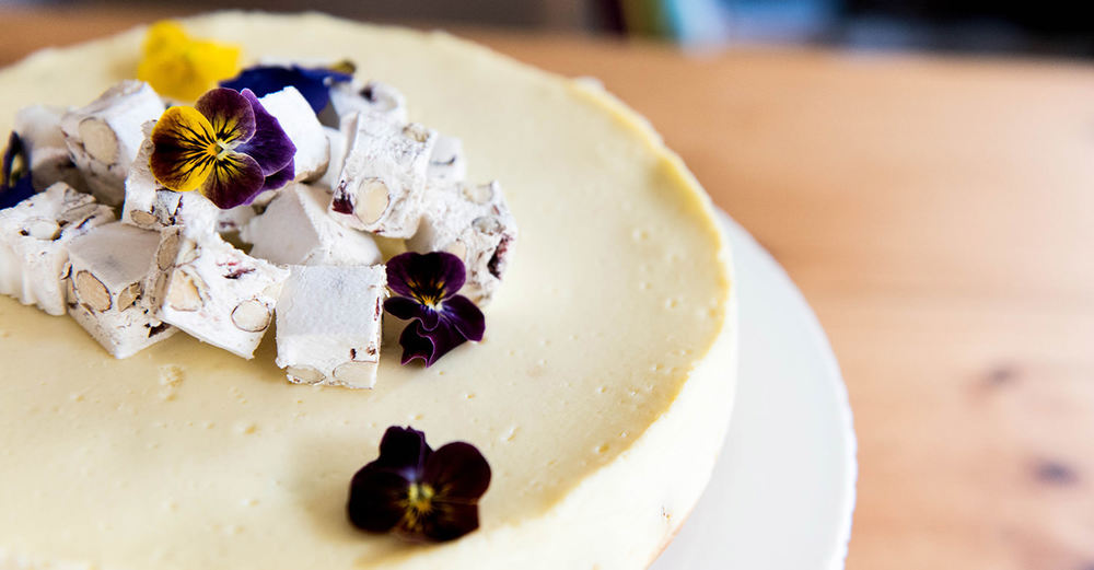 Baked Nougat Cheesecake / Kate Martens (p)