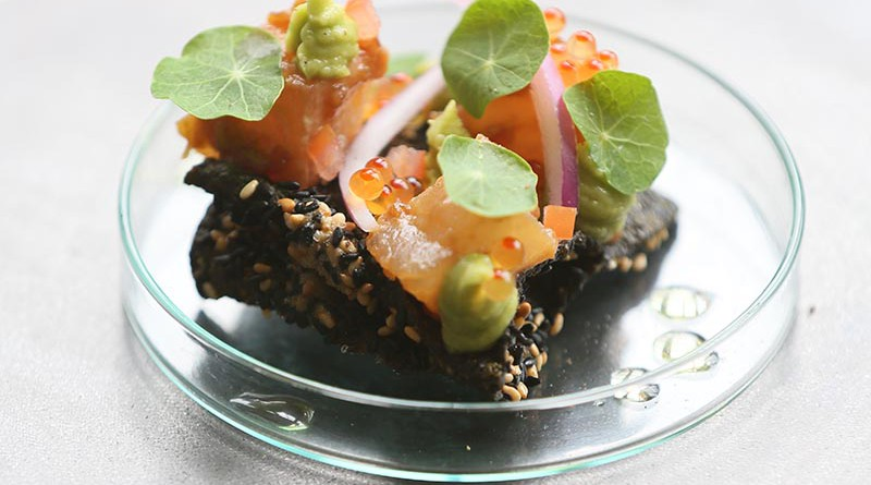Nori Crisp with Sesame Hake / SA Country Life (p)