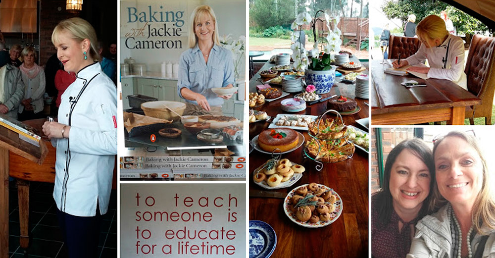 Baking with Jackie Cameron Book Launch / Run On Coffee (p)