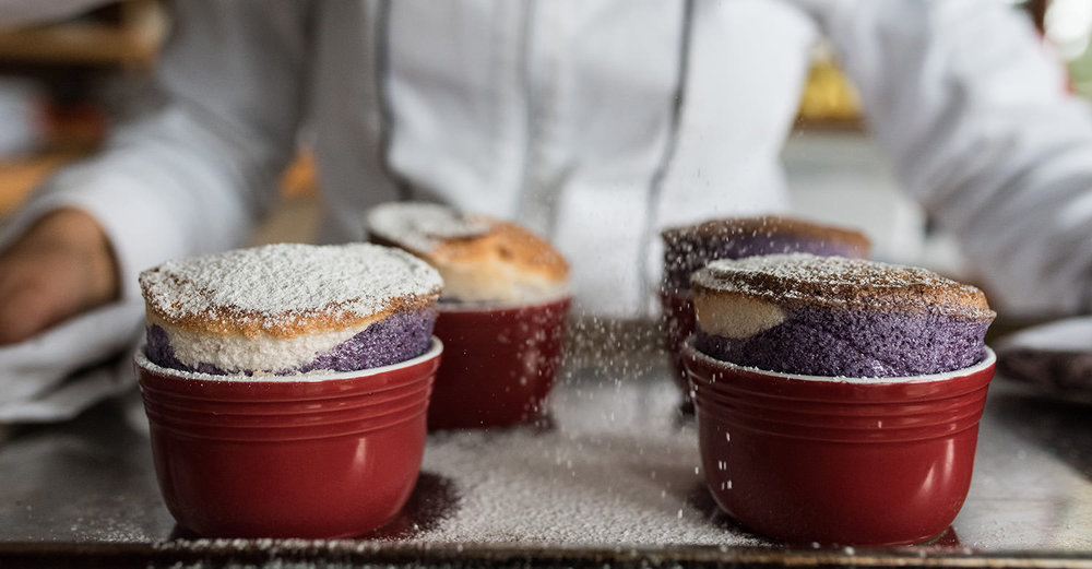Mixed Fruit Soufflé