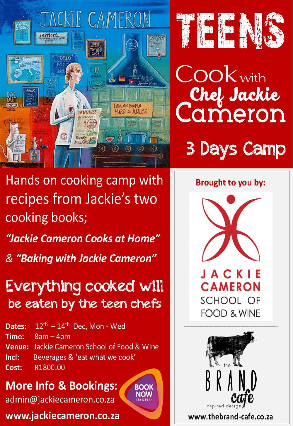 Teen Cooking Camp