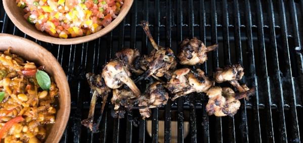 Chicken Wings Chakalaka Salsa