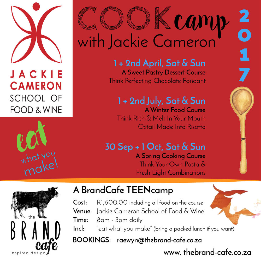Jackie Cameron Cook Camp