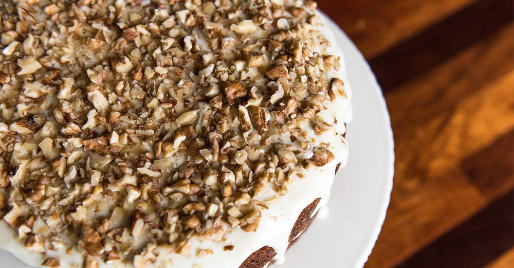Jordin Shelly's Carrot Cake