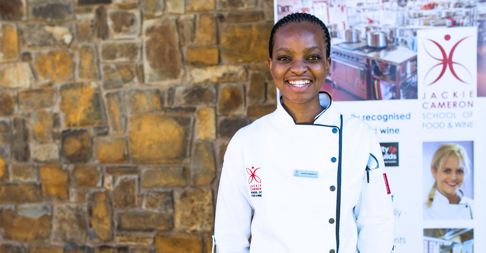 Andiswa Mqadlana - Jackie Cameron School of Food & Wine