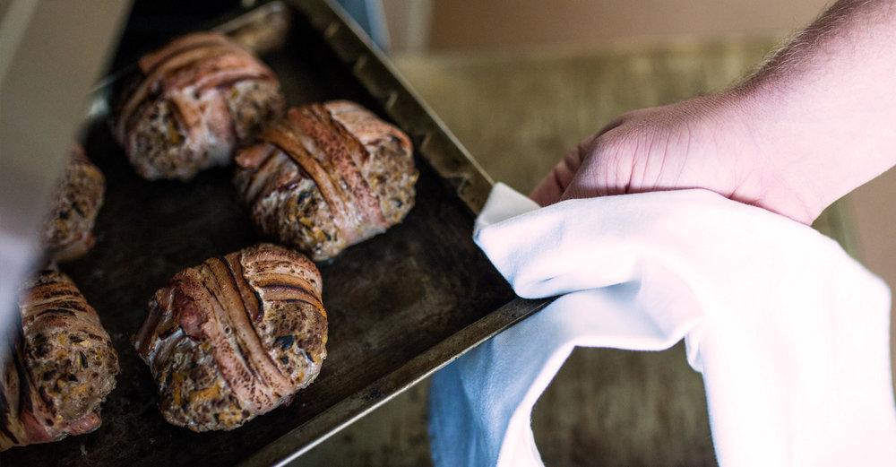 Brynn Enslin's Venison Burger