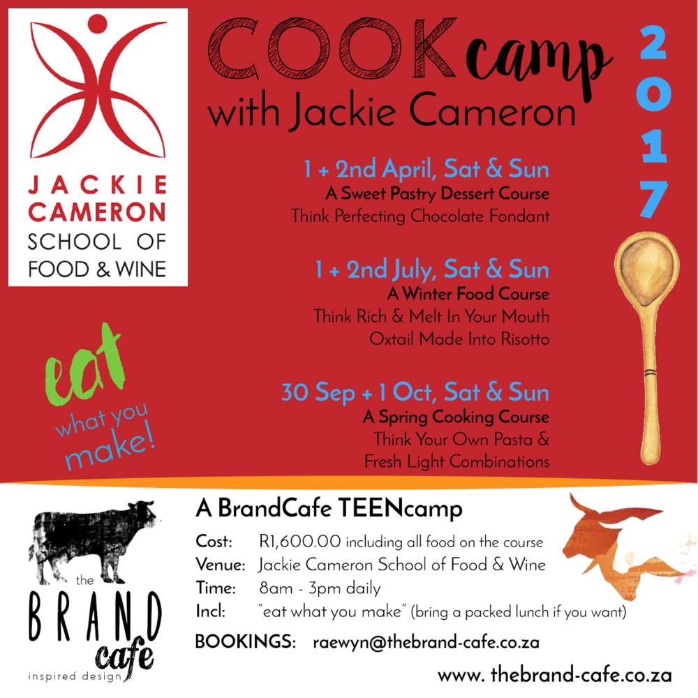 Teens Cooking Camp 2017