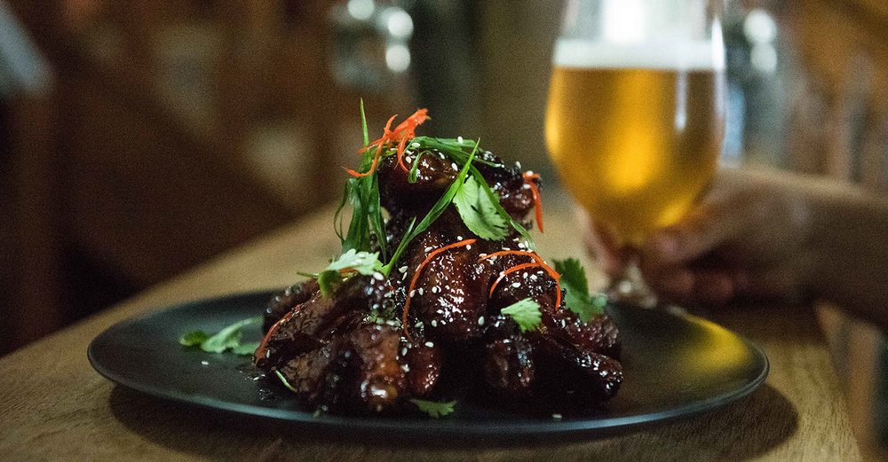 Asian-inspired Sticky Chicken Wings