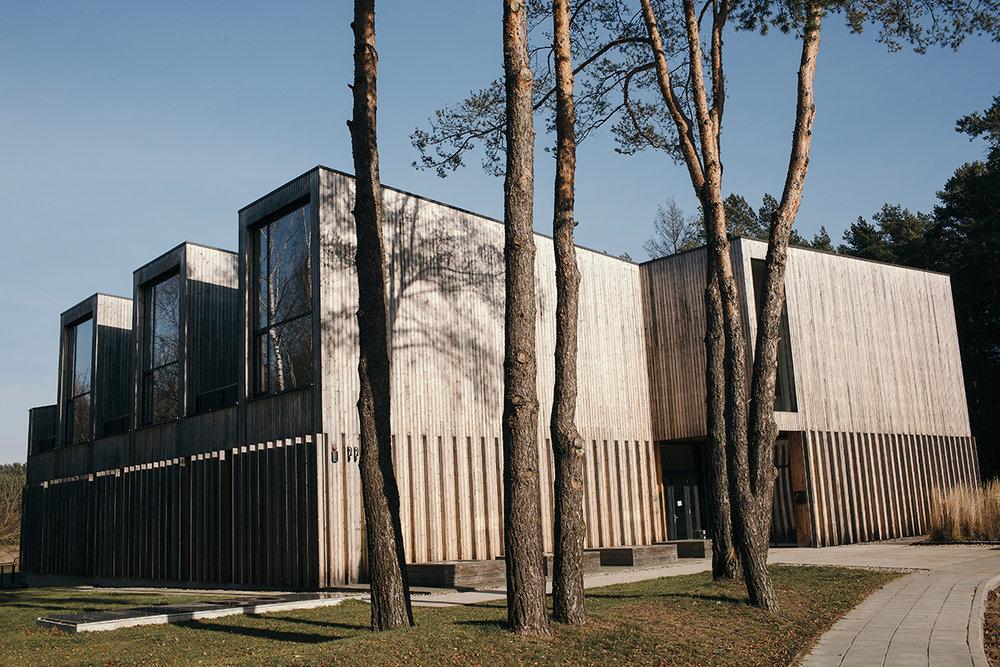 Ged's studio building. Photo by Šarūnė Zurba