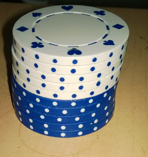 My current favorite poker chips to shuffle