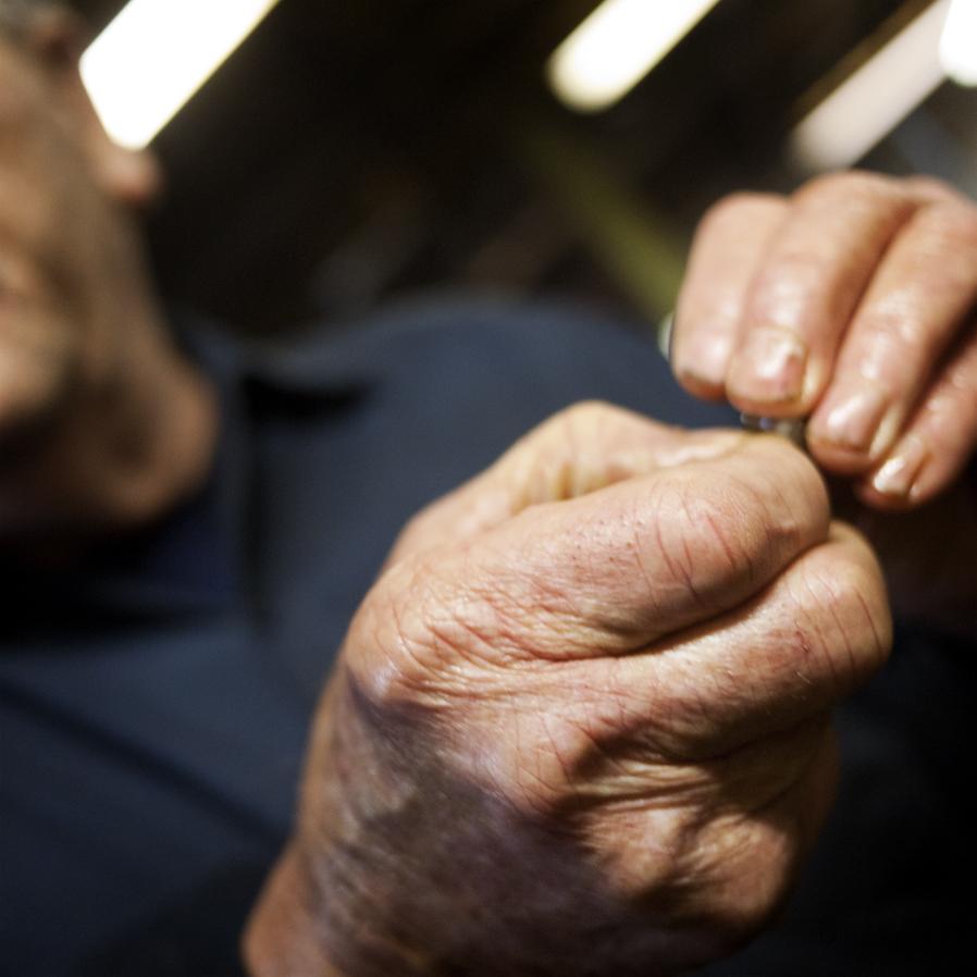 Ron's Hands.