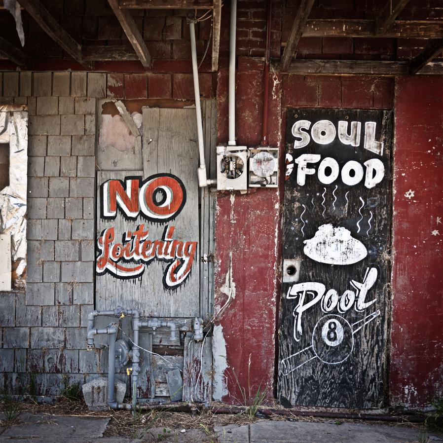Soul food & pool