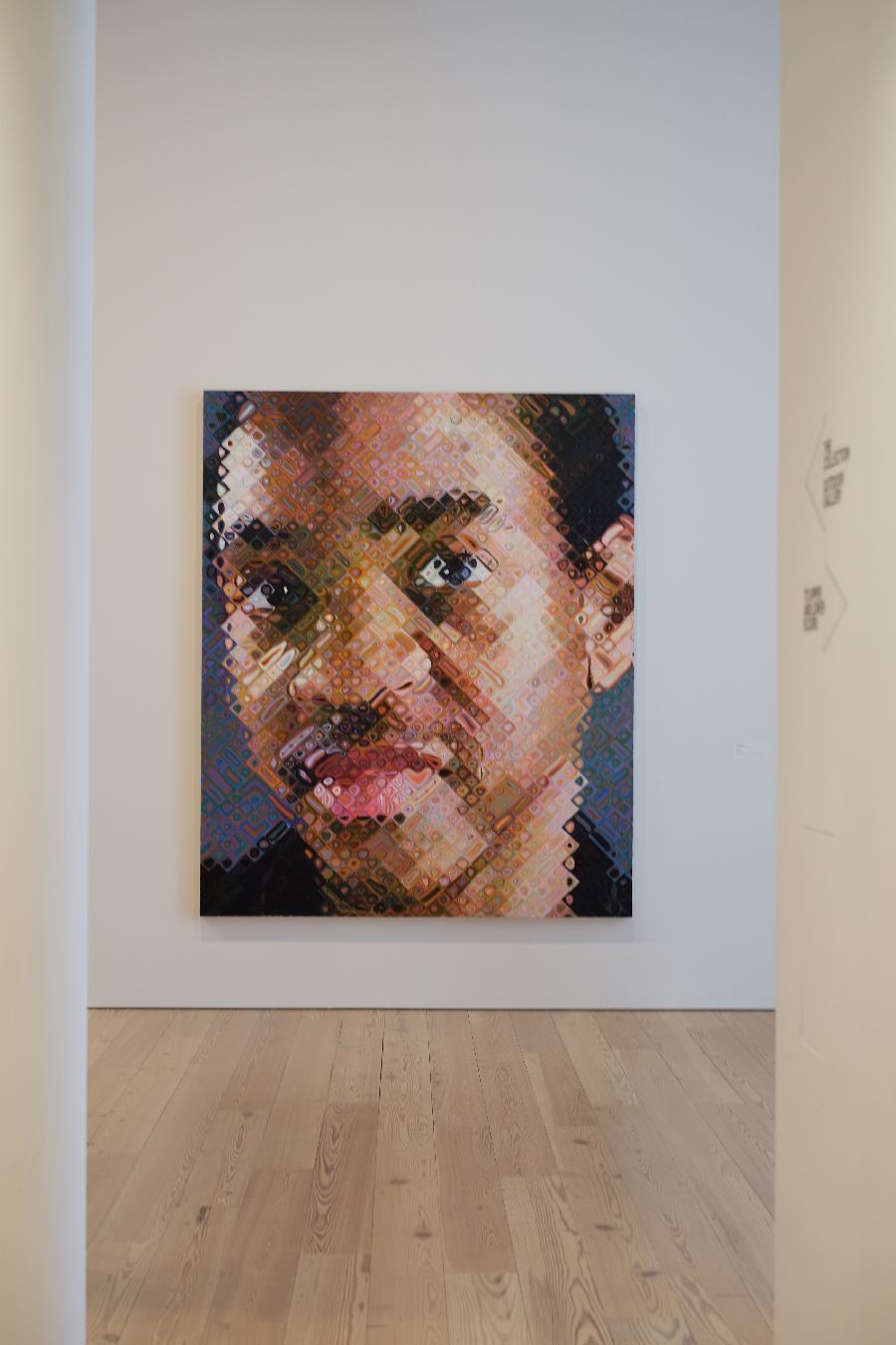 There's always time for Chuck Close.