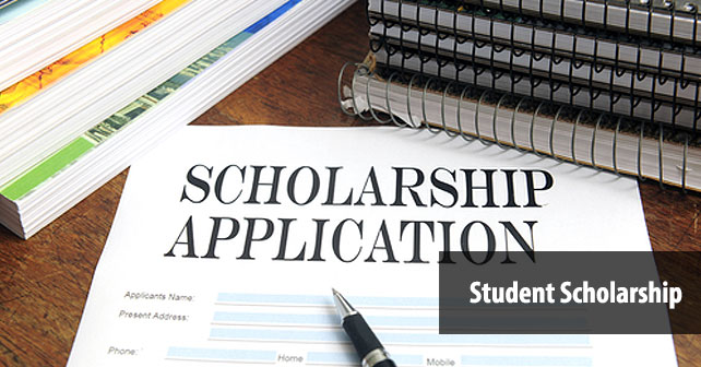 STUDENT SCHOLARSHIP APPLICATIONS NOW BEING ACCEPTED!