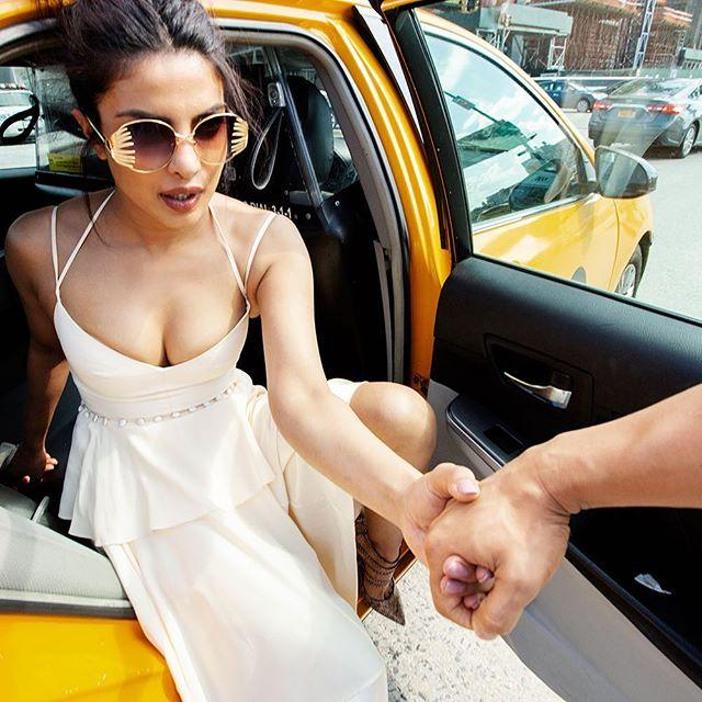 Summer shoot in Manhattan w/@priyankachopra @vogueindia 🔥