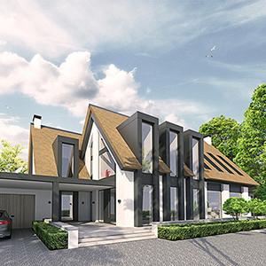 modern landelijk villa woning huis architect zelfbouw kavel strak erker stuc riet rieten dak hoogkarspel streekweg noord holland traditioneel architectuur luxe_1b.jpg