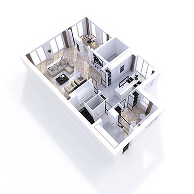 NOMAA architect interieurarchitect den haag wassenaar verbouwing interieur luxe modern landelijk strak licht stalen kozijnen visgraat vloer doorkijkhaard birdeye icon.jpg