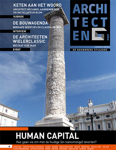 'Ontwerpvrijheid en Perfect Wooncomfort'  Architecten Punt Magazine Maart 2019