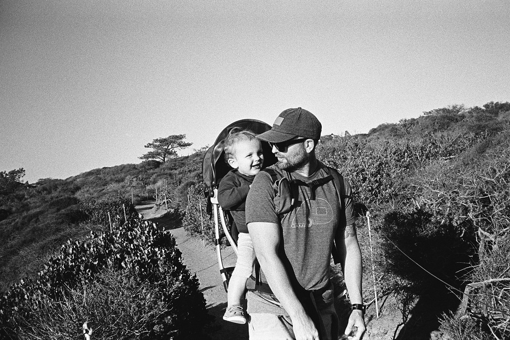^^ Hiking Torrey Pines.