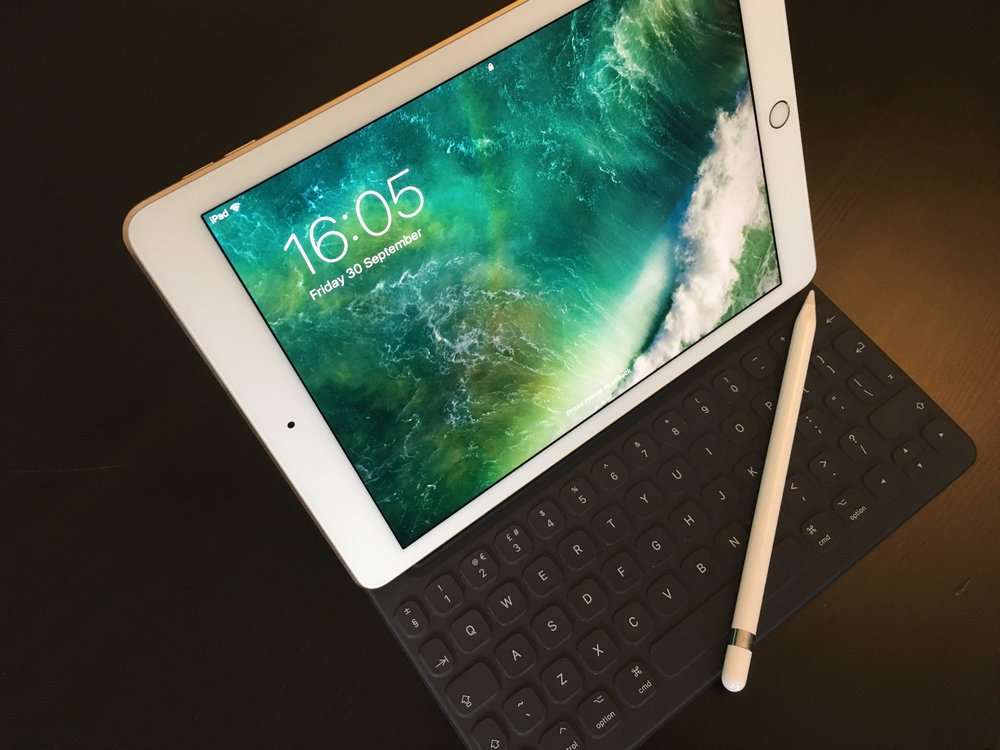 "iPad pro 9.7"" - the best piece of kit for on the go digital content creation"