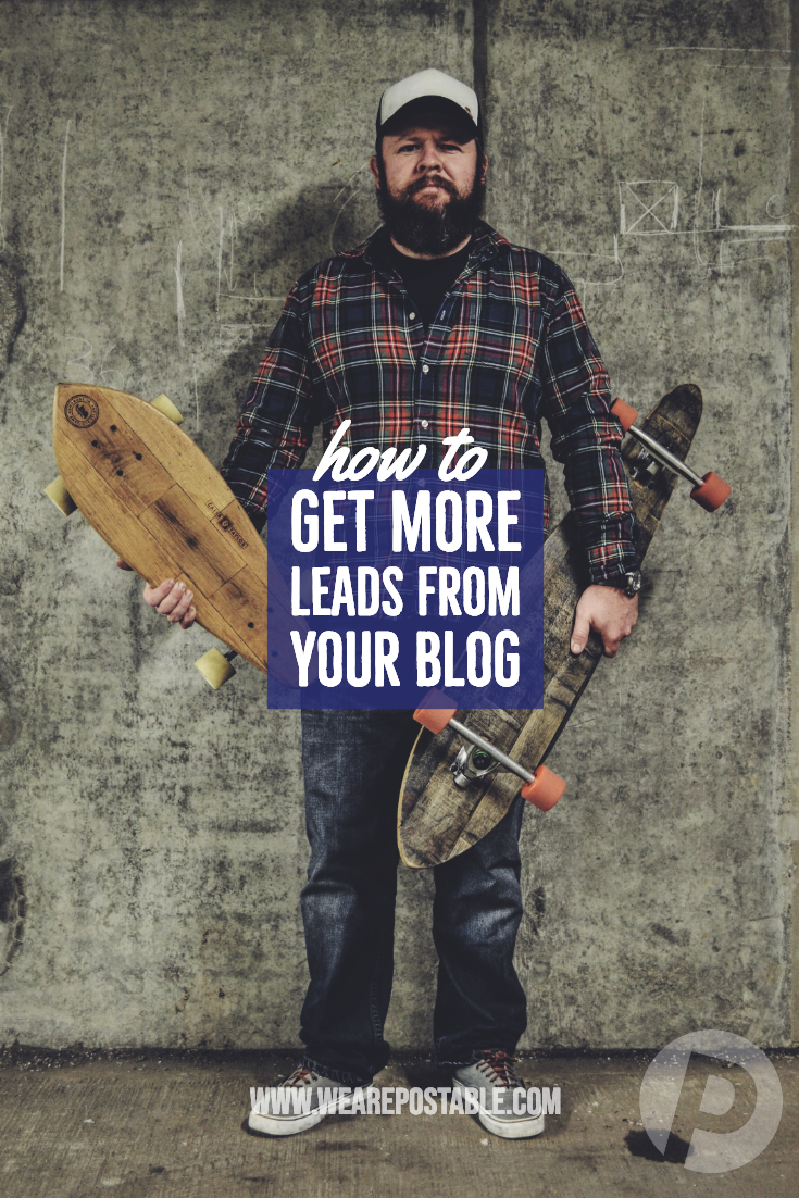 how to get more leads for your business from your blog
