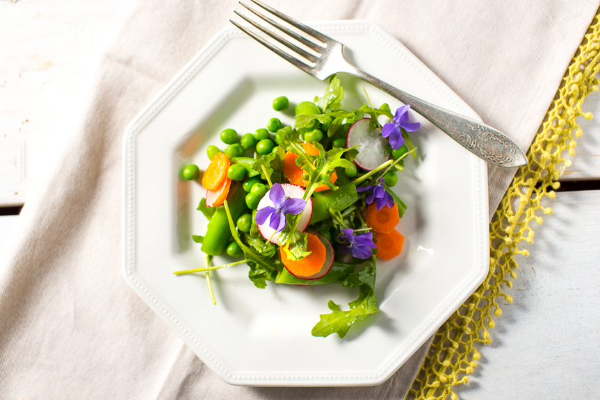 Three-Pea Spring Salad.